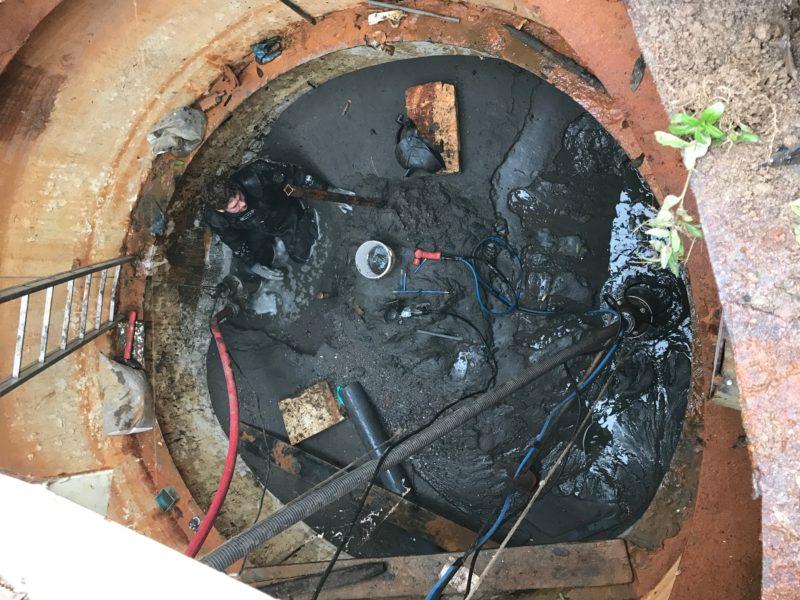 Vloer verwijderen pompgemaal Huissen
