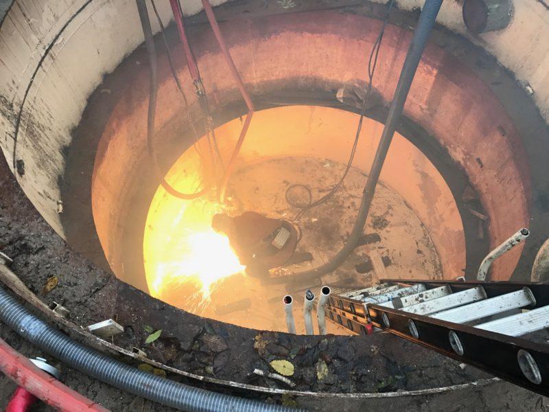 Las-/ brandwerkzaamheden pompgemaal Huissen