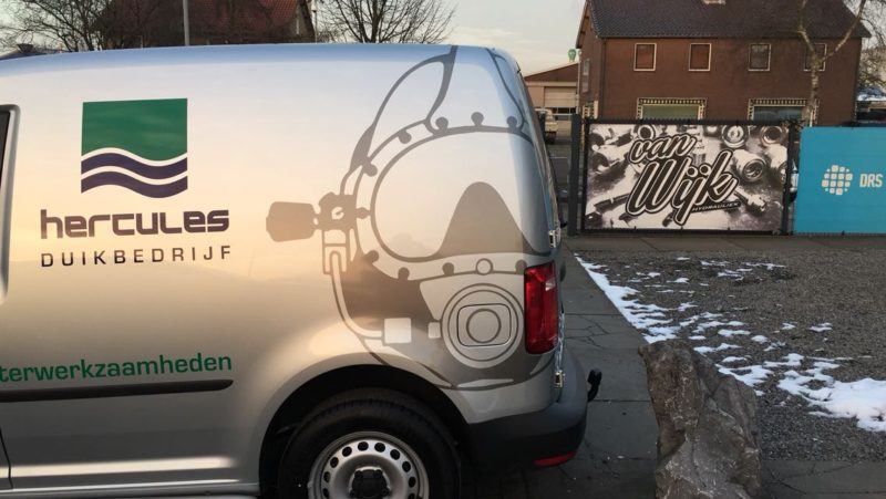 Nieuwe Caddy Hercules Duikbedrijf